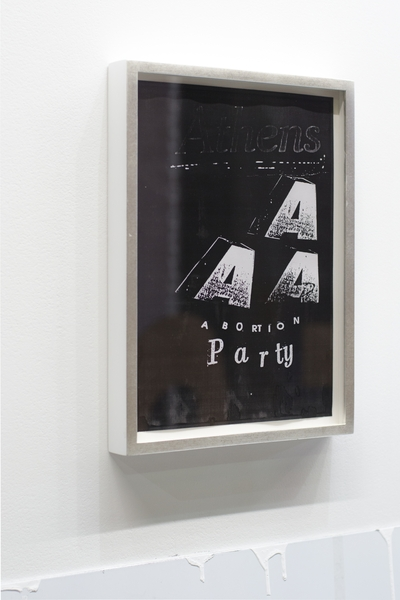 Athens AAA Abortion Party, Paul Kneale , 2013