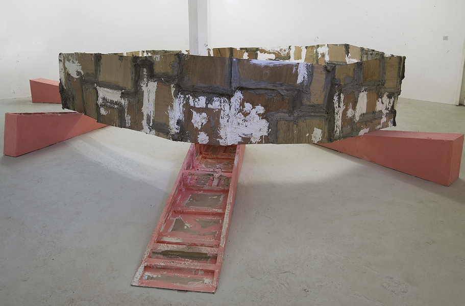 SWAMP untitled: barrier 2010, Phyllida Barlow , 2010