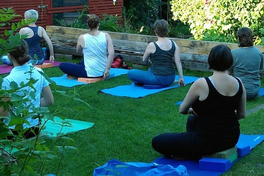 Iyengar Yoga, Devonshire Road Nature Reserve, Forest Hill