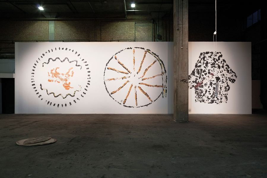 Installation View 2012, Aaron Angell , 2012